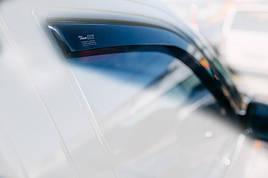 Дефлекторы окон (ветровики)   VW Touareg 2003-> 5D 4шт (Heko)
