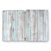 Чехол книжка, обложка для Apple iPad (Окрашенная древесина) Air 1 / 9.7 (2017 2018) A1474/A1475/A1476/A1822/A1823/A1893/A1954 айпад case smart cover