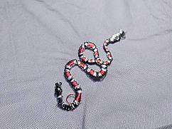 Сетка Фауна змейки, черный