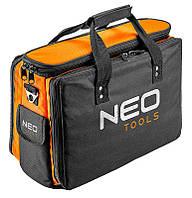 Монтерская сумка Neo Tools 84-308, 17 карманов,  жесткая конструкция, 3 главных отдела
