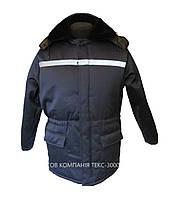 """Куртка утепленная """"Север"""" с капюшоном и меховым воротником., фото 1"""