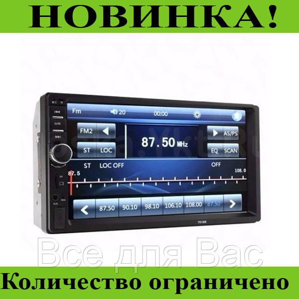 """Автомагнитола с GPS и сенсорным экраном 7018В (7"""")!Розница и Опт"""