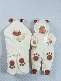 Конверты и комплекты для новорожденных на выписку
