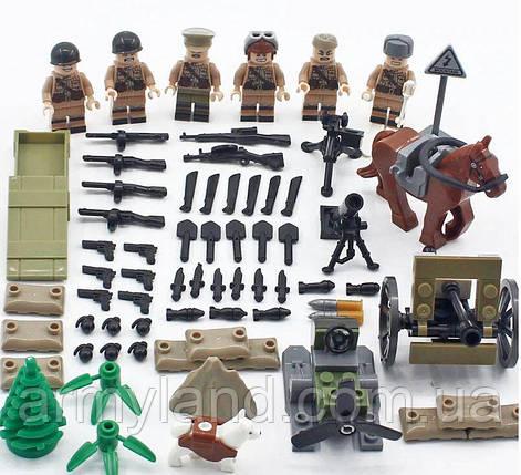Набор Soviet Army, военный конструктор, фото 2