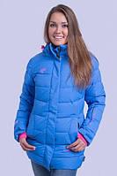 """Зимняя женская удлиненная куртка """"SNOW"""""""