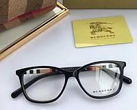 Женская брендовая оправа в стиле Burberry 2279 черная, фото 1