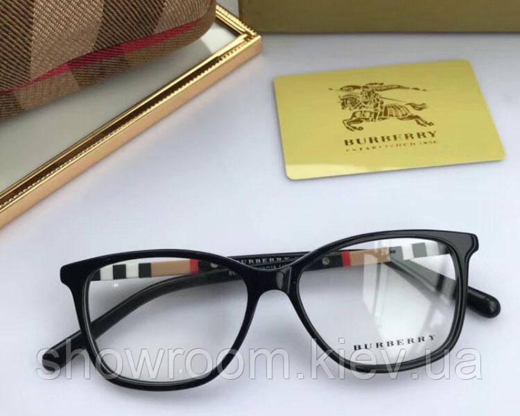 Женская брендовая оправа в стиле Burberry 2279 черная