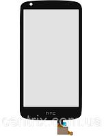 Тачскрин (сенсор) для HTC Desire 326G Dual Sim 128*66, цвет черный