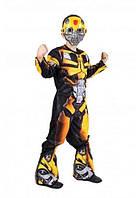 Маскарадный костюм трансформера Бамблбиа Bumble Man шмель карнавальный костюм на Новый год супергероя
