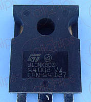MOSFET N-Канал STM STW10NK80Z TO247