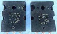 Транзисторы NPN/PNP Toshiba 2SC5359/2SA1987 TO3P
