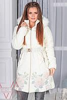 Зимняя женская  куртка, 124 NZ (42-50)