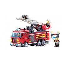 Конструктор Brick 364 детали, конструктор Пожарная машина, конструктор  904, фото 1