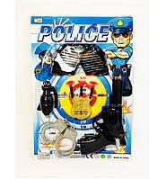 Набор полиции, полицейский набор, набор с пистолетом, наручниками и гранатой, Набор полиции 68-3R