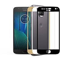 3D защитное стекло для Motorola Moto G5s XT1794 (на весь экран)