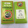 Голки для швейних машин Organ №70, 10 шт в упаковці