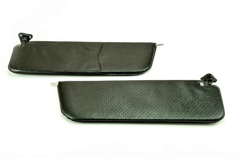Козырьки противосолнечные 2106 мягкие (черные) (кт-2шт)
