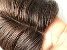 УЦЕНКА! Коричневый натуральный парик каре. Сетка на проборе, имитация кожи., фото 7