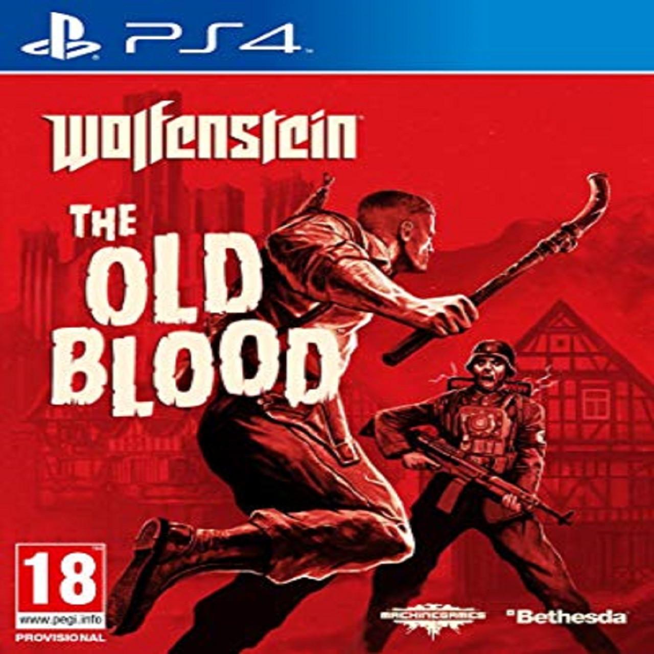 Wolfenstein: The Old Blood RUS PS4 (Б/В)