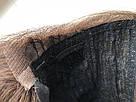 УЦЕНКА! Коричневый натуральный парик каре. Сетка на проборе, имитация кожи., фото 9