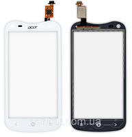 Тачскрин (сенсор) для Acer V370 Liquid E2 Duo асер, цвет белый