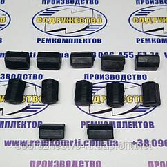 Набор демпферов ступицы корзины сцепления (70-1601091) трактор МТЗ-80 / МТЗ-100 / МТЗ-1221 (12 шт.)