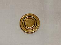 Крышка закаточная твист-офф размер 43 мм золото, фото 1