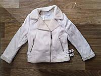 Куртка на меху для девочек оптом, Glo-story,  110-160 рр, фото 1