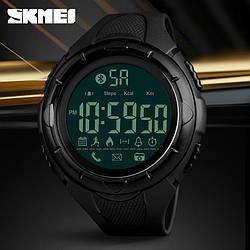 • Оригинал! Skmei(Скмей) 1326 Black | Cпортивные мужские часы !