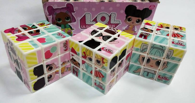 """Кубик Рубика 3*3*3 """"LOL"""" , фото 2"""