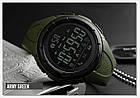 • Оригинал! Skmei(Скмей) 1326 Green  | Cпортивные мужские часы !, фото 5