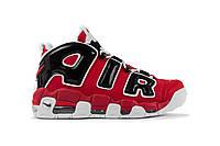152352f2 Мужские зимние кроссовки Nike Air More Uptempo (в стиле Найк) черные