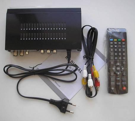Цифровой Телевизионный Приемник Ресивер Тюнер Т2 WiFi DVB- HDTV Digital Terrestrial Receiver Приставка Т2, фото 2