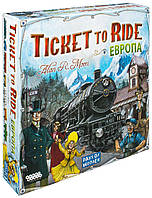 Ticket to Ride: Европа (Билет на поезд: Европа). Настольная игра. Hobby World.
