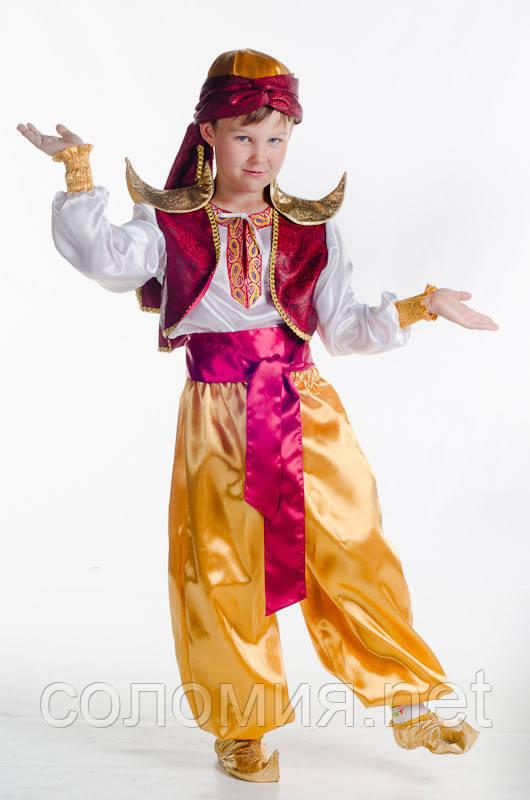 Детский карнавальный костюм для мальчика Аладдин 110-140р