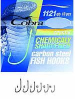 Крючки Cobra CRYSTAL 1121 №8 10шт (оригинал)