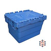 Пластиковый контейнер с крышкой - SPKM4325, 300x400x250 мм