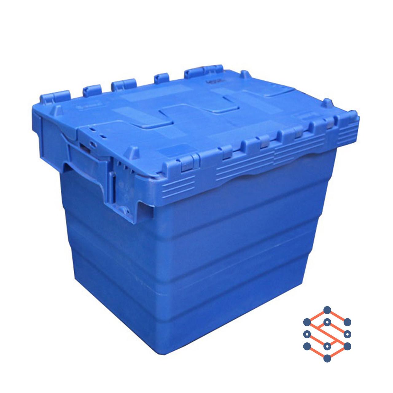 Пластиковый контейнер с крышкой - SPKM4332, 300x400x320 мм