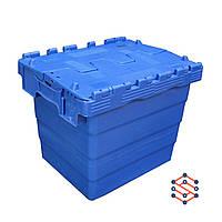 Пластиковый контейнер с крышкой - SPKM4336, 300x400x365 мм