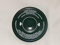 Крышка закаточная твист-офф размер 110 мм  зеленая (на банки с очень широкой горловиной)