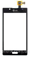 Тачскрин (сенсор) для LG P705, P700, P750 Optimus L7, цвет черный