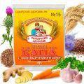 Каша пшеничная с чесноком, морковью, имбирём и дигидрокверцетином №15