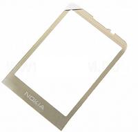 Стекло для Nokia 6700c, цвет золотой