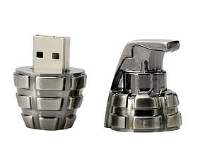 USB Флеш Граната 32gb Бронза, фото 2