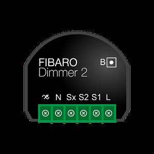 Використання входу S2 Fibaro Dimmer2 для активації сцен користувача