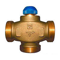 Трехходовой термостатический клапан HERZ CALIS-TS-RD DN 32 1 1/2 НР