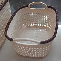 Корзина-плетенка для белья