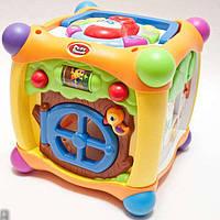 """Развивающая игрушка сортер """"Волшебный куб"""" Play Smart 7373"""
