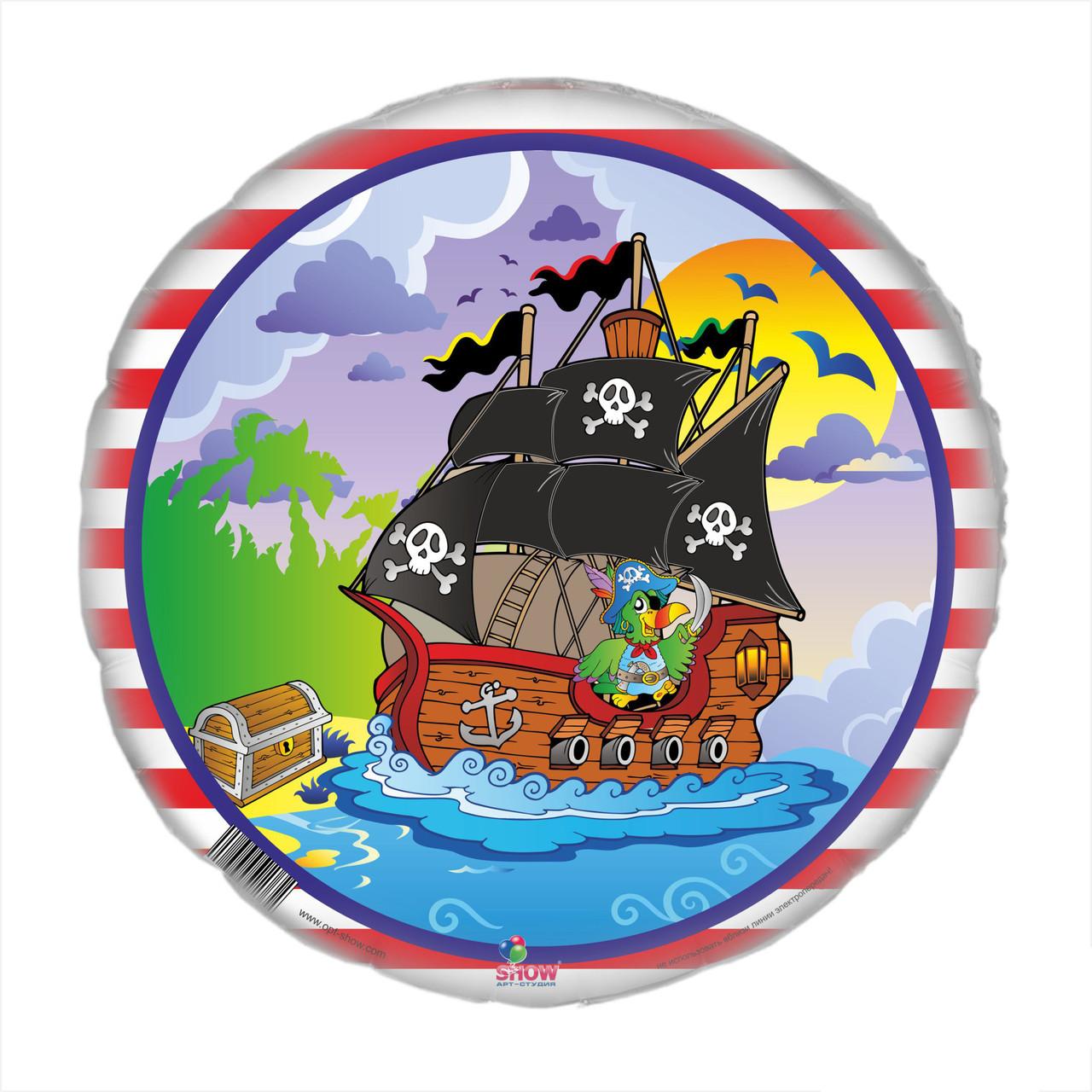 Сахарная картинка Пираты, для торта