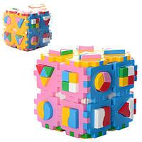Іграшка куб Розумний малюк Суперлогіка ТехноК